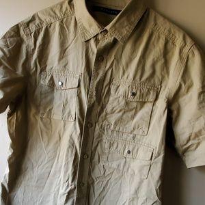 Sean John Shirts - Sean john khaki shirt